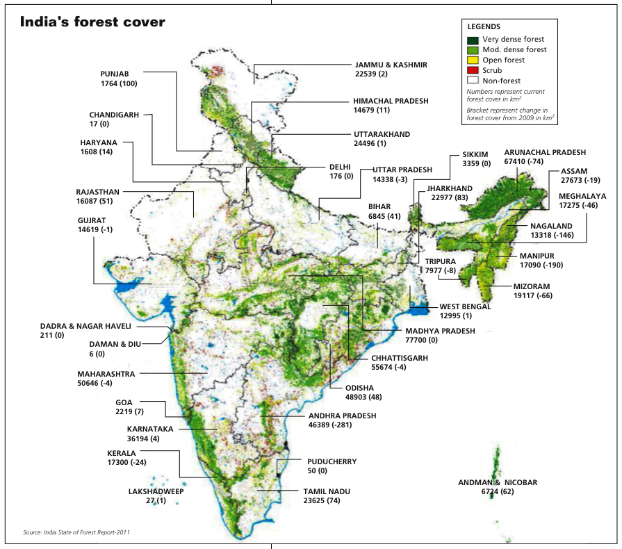India's Forest Cover